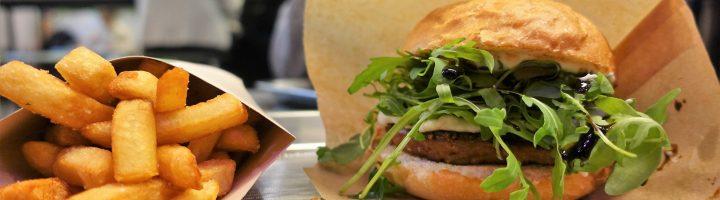 Bun2bun & Beyond Meat -burgerit